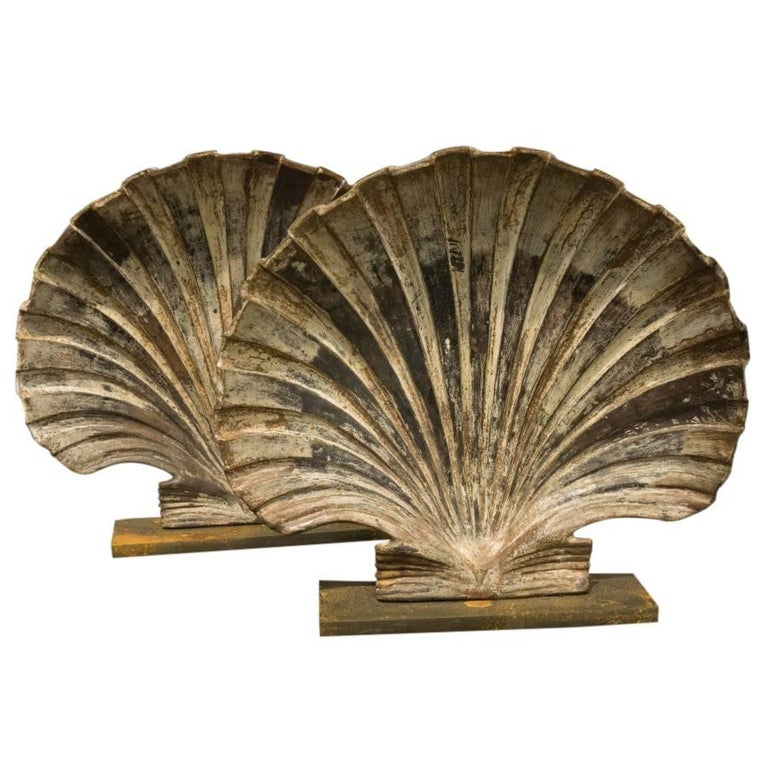 Cast Iron Shells Rare Art