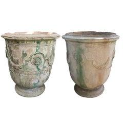 19th Century Grand Anduze Jars