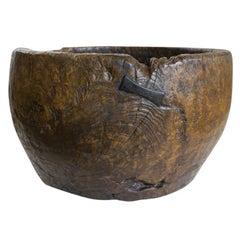 Antique Indonesian Teak Vessel
