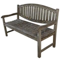 French Oak Bench, circa 1900