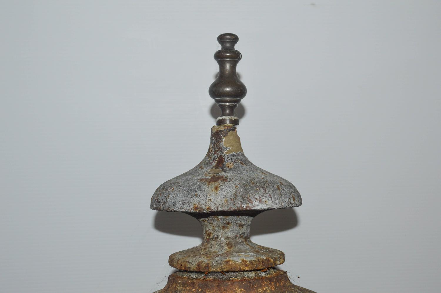 Cast Iron Conductor : Cast iron lightning rod for sale at stdibs
