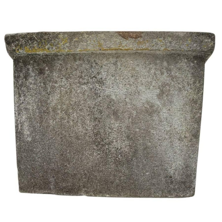 Antique French Cement Planters For Sale 1
