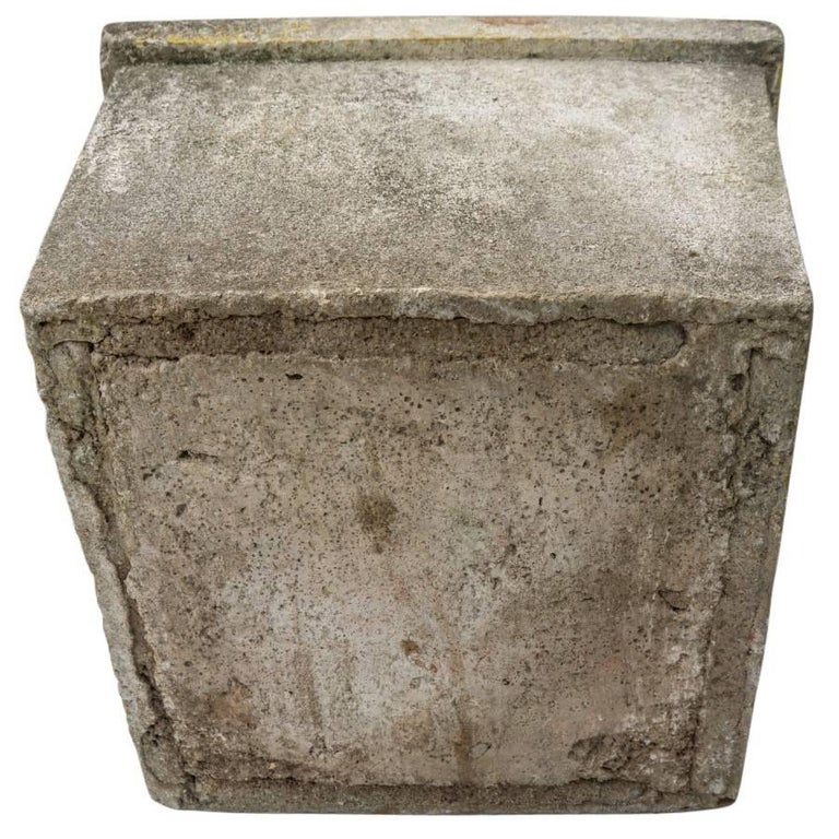 20th Century Antique French Cement Planters For Sale