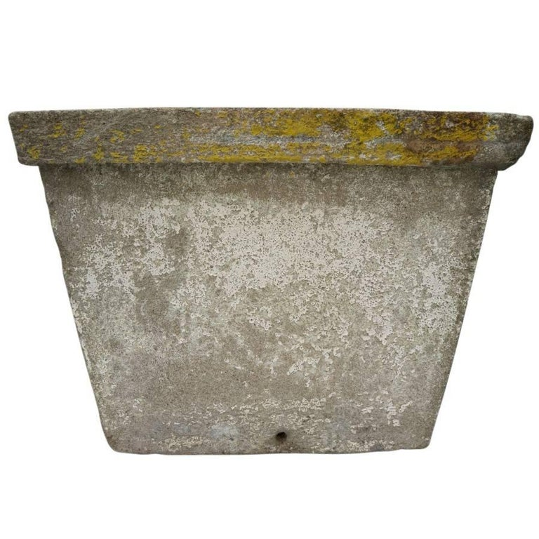 Antique French Cement Planters For Sale 2