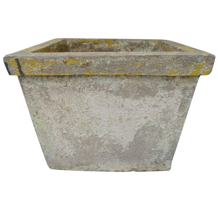 Antique French Cement Planters For Sale 3