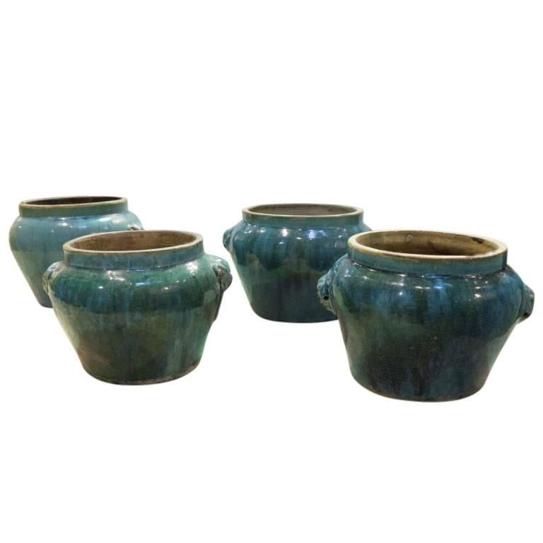Antique Ceramic Pickle Pots, 19th Century, China For Sale 3