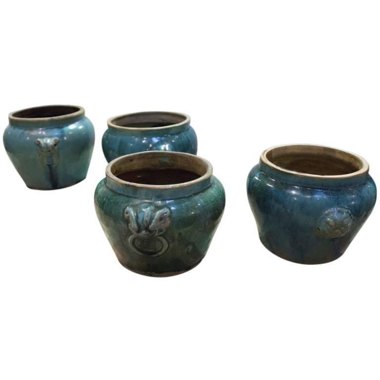 Antique Ceramic Pickle Pots, 19th Century, China For Sale 2