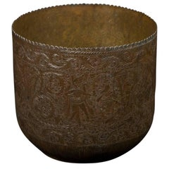 19th Century Antique Copper Planter from Java Indonesia