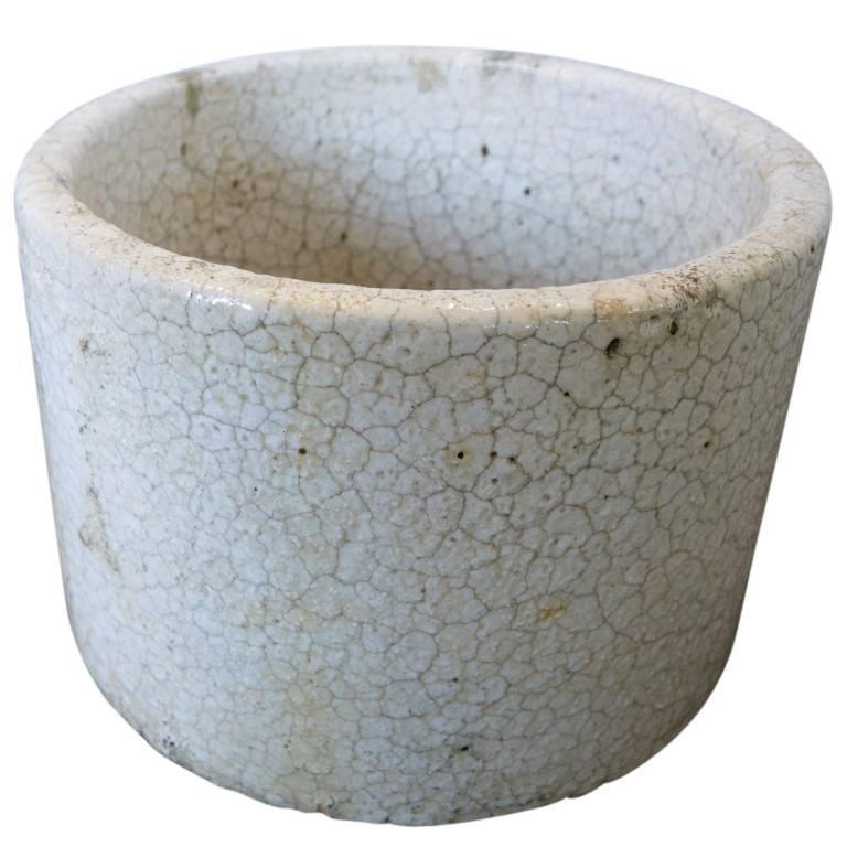 Vintage American Ceramic Crucible Planter