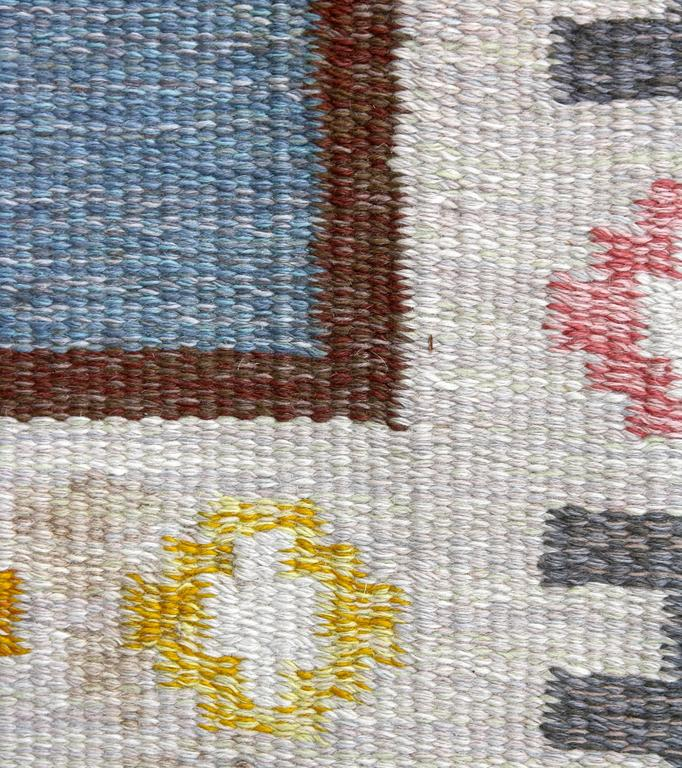 Mid-20th Century 1950s Swedish Rug by AW For Sale