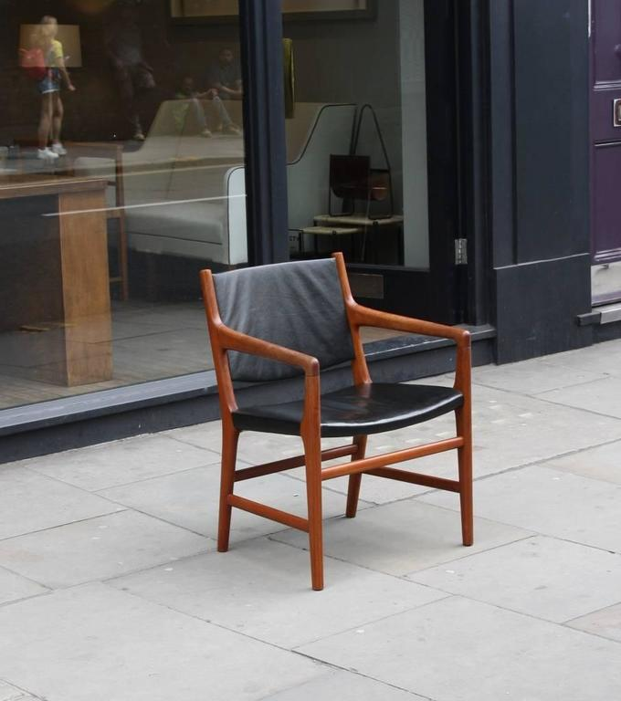 Danish Hans Wegner Armchair JH507 For Sale