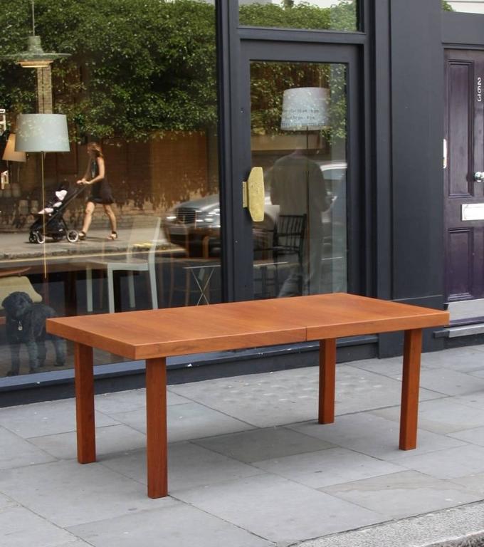 Danish Carl-Gustaf Hiort af Ornäs 'Näyttely Junior' Extendable Dining Table