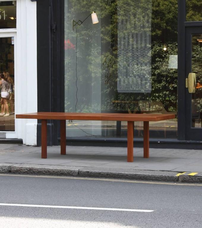 Teak Carl-Gustaf Hiort af Ornäs 'Näyttely Junior' Extendable Dining Table