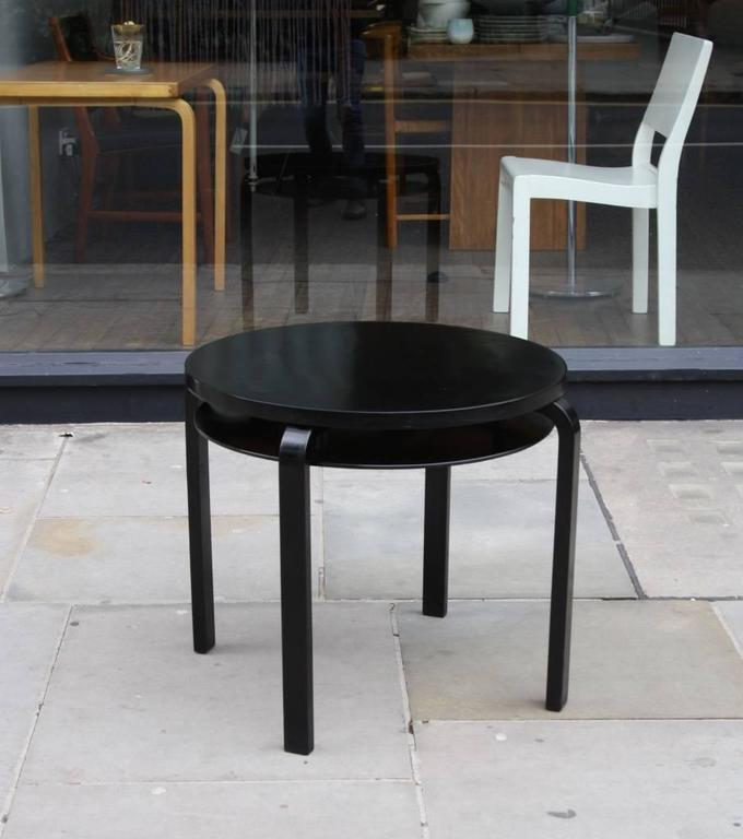 Side Table No. 70 Designed By Alvar Aalto For Artek, Circa 1930, Finland