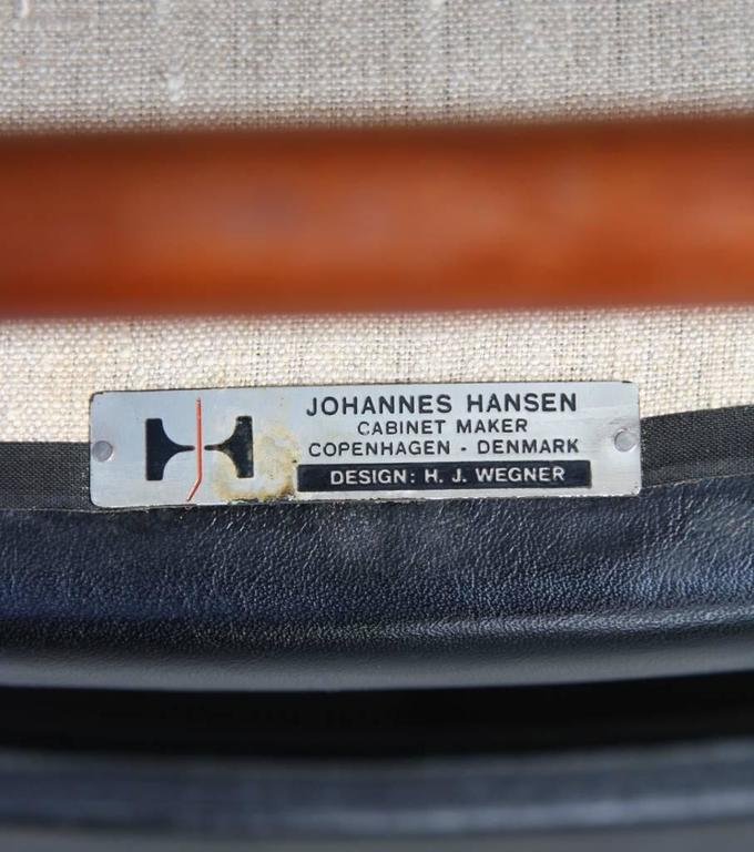 Hans Wegner Armchair JH507 For Sale 3