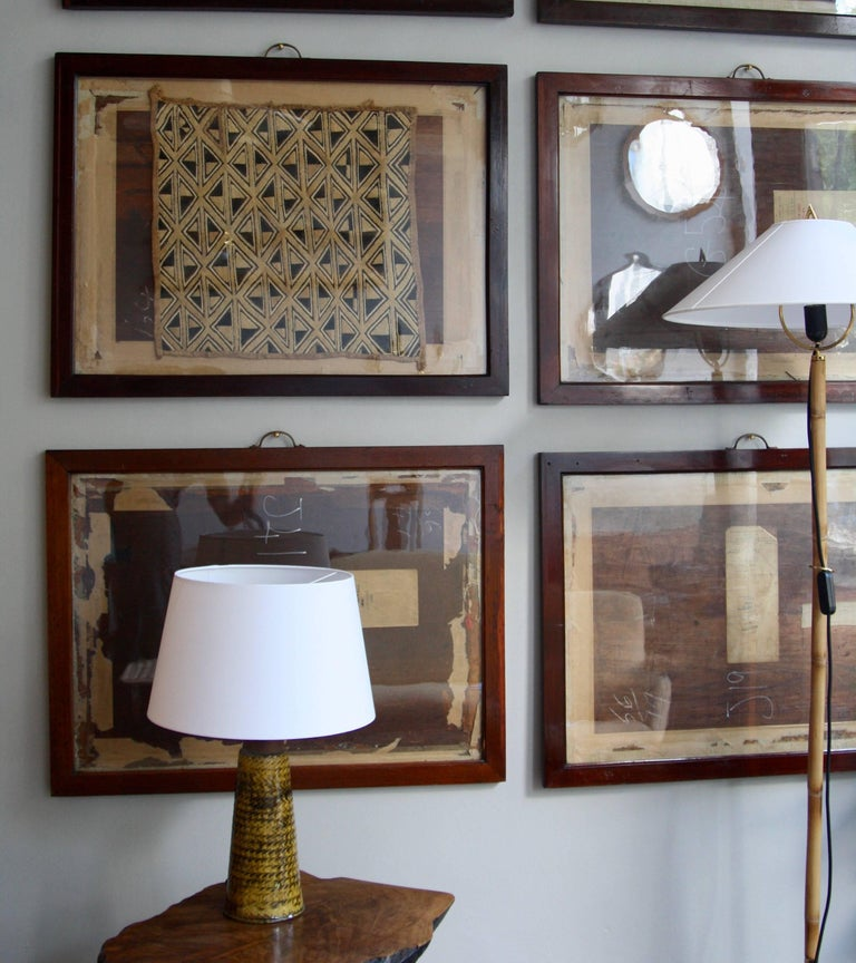 Antique Mahogany Frames/ Specimen Trays/ Museum Display Cases from the V&A For Sale 3
