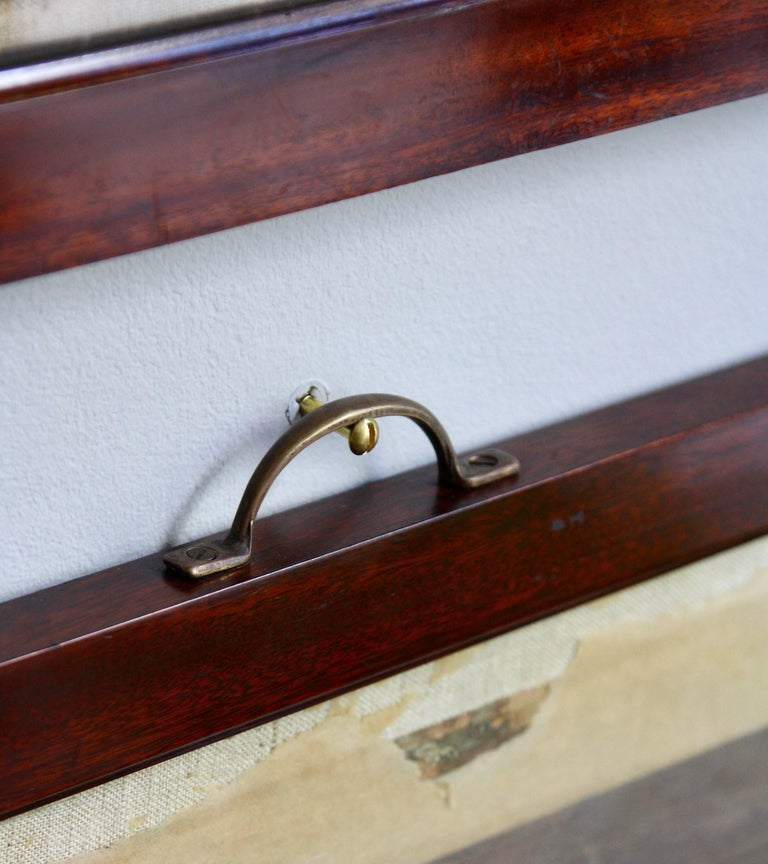 Antique Mahogany Frames/ Specimen Trays/ Museum Display Cases from the V&A For Sale 2