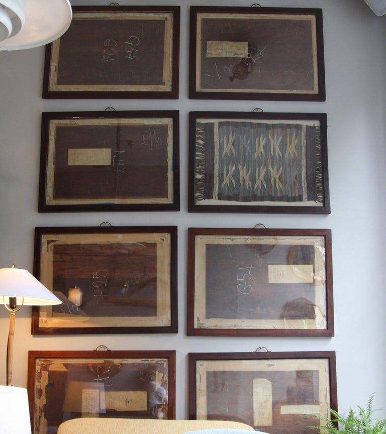 Antique Mahogany Frames/ Specimen Trays/ Museum Display Cases from the V&A For Sale 1