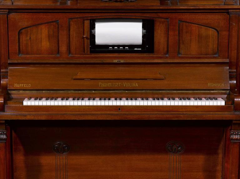 German Hupfeld Phonoliszt-Violina Model B Music Cabinet For Sale