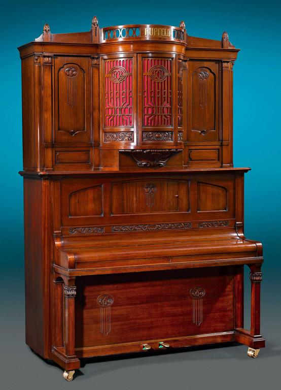 Hupfeld Phonoliszt-Violina Model B Music Cabinet In Excellent Condition For Sale In New Orleans, LA