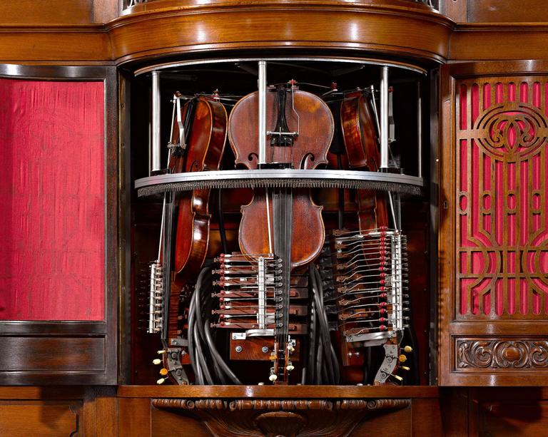 Other Hupfeld Phonoliszt-Violina Model B Music Cabinet For Sale