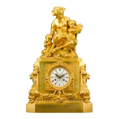 French Mantel Clock by Thomire & Moinet