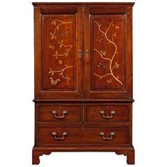 Mahogany Butterfly Cabinet