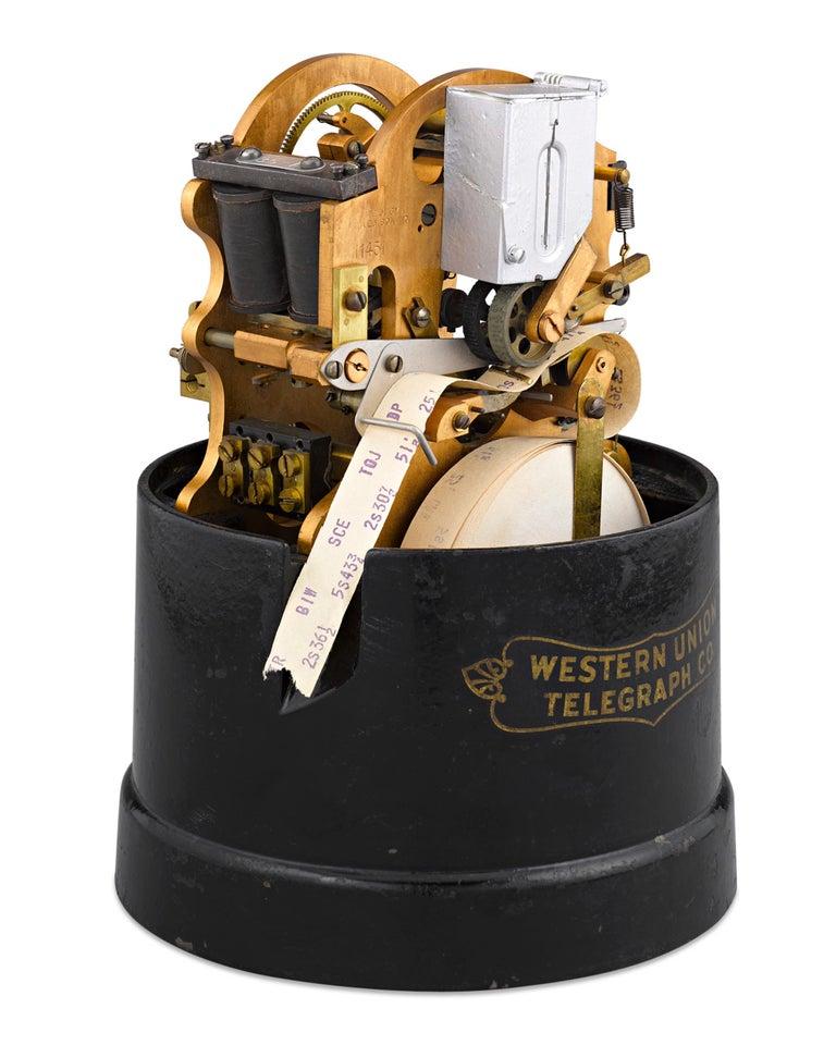 Western Union Stock Ticker At 1stdibs