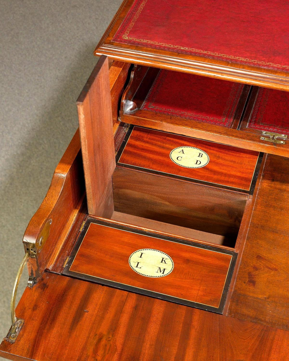 Regency Architect 39 S Desk By Gillows For Sale At 1stdibs