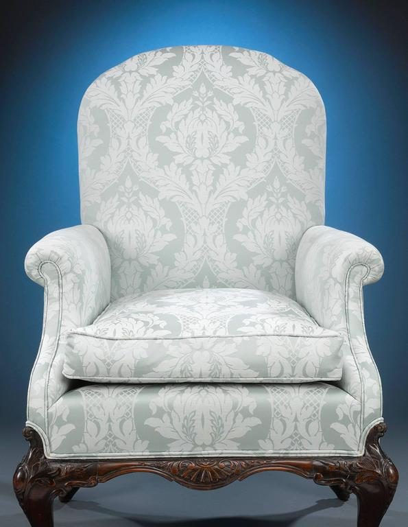 European George II Style Mahogany Armchairs For Sale