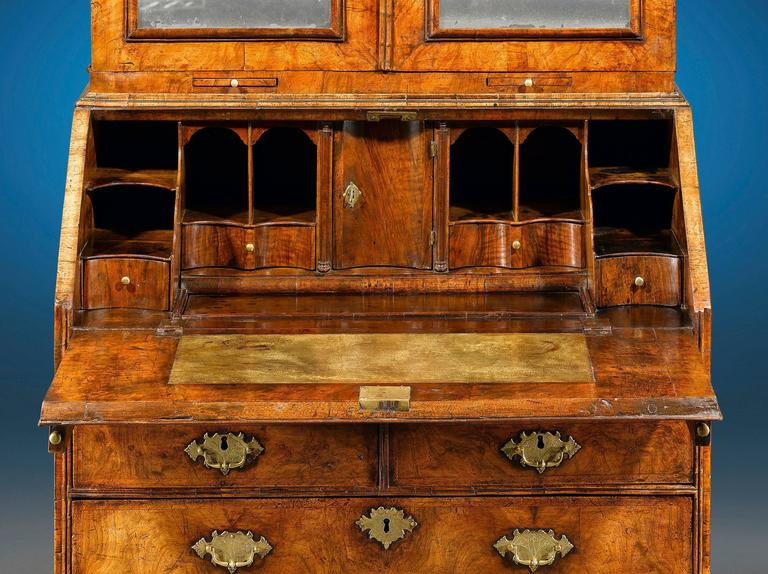 Queen Anne 18th Century English Secretary  For Sale