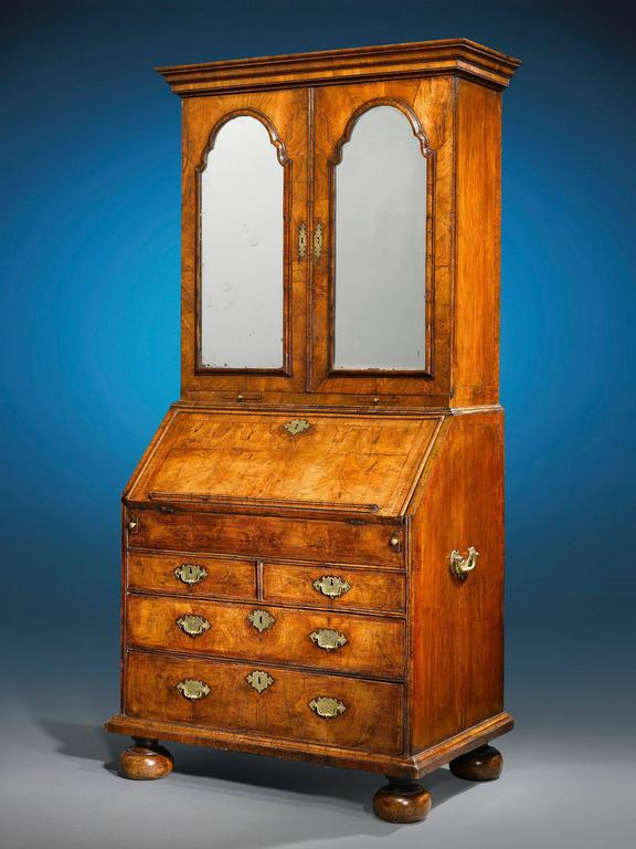 18th Century and Earlier 18th Century English Secretary  For Sale