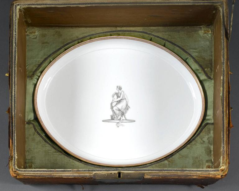 18th Century KPM Porcelain Tea Service In Excellent Condition For Sale In New Orleans, LA