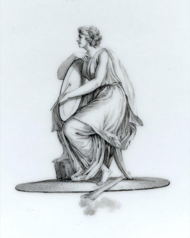 18th Century and Earlier 18th Century KPM Porcelain Tea Service For Sale