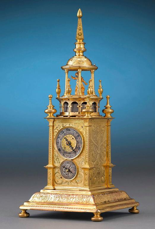 Renaissance Turret Clock Early 17th Century At 1stdibs
