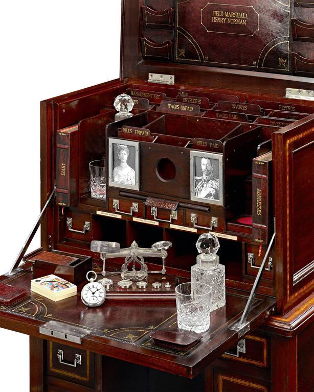 English British Field Marshalu0027s Campaign Desk For Sale