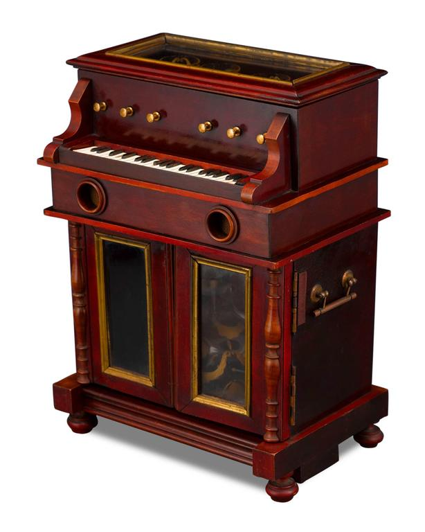 Other 19th Century Upright Piano Cave À Liqueur For Sale