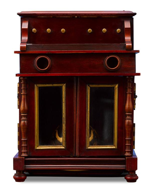 Unknown 19th Century Upright Piano Cave À Liqueur For Sale