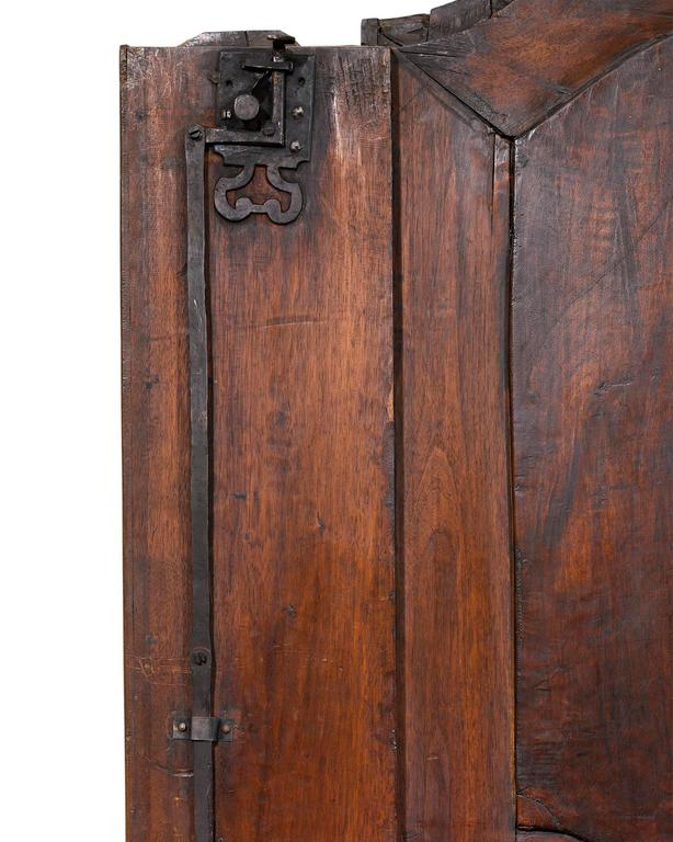 18th Century and Earlier French Provincial Double Door Armoire For Sale