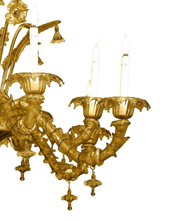 Other Venetian-Murano Glass Chandelier For Sale