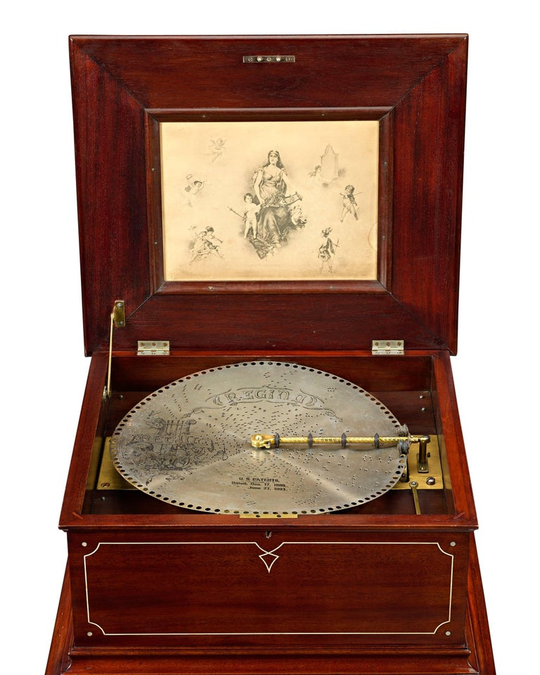 This Outstanding Disc Music Box Was Created By The Regina Company Of New York