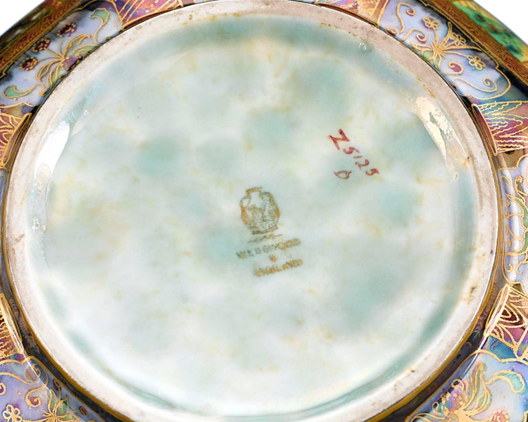 Other Wedgwood Fairyland Lustre Octagonal Bowl  For Sale