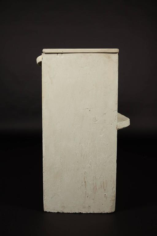 1890s Whitewashed Church Pew For Sale 1