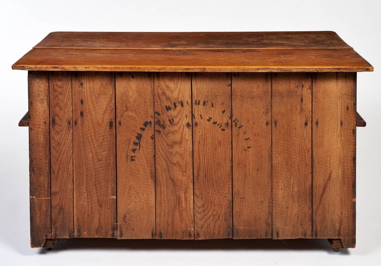 Early 20th Century Bakers Cabinet With Winged Doors For Sale At 1stdibs