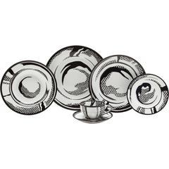 Dish Set by Roy Lichtenstein