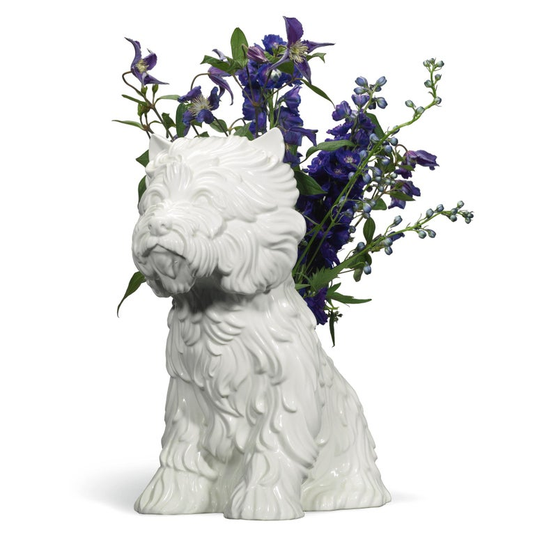 Puppy Vase By Jeff Koons For Sale At 1stdibs