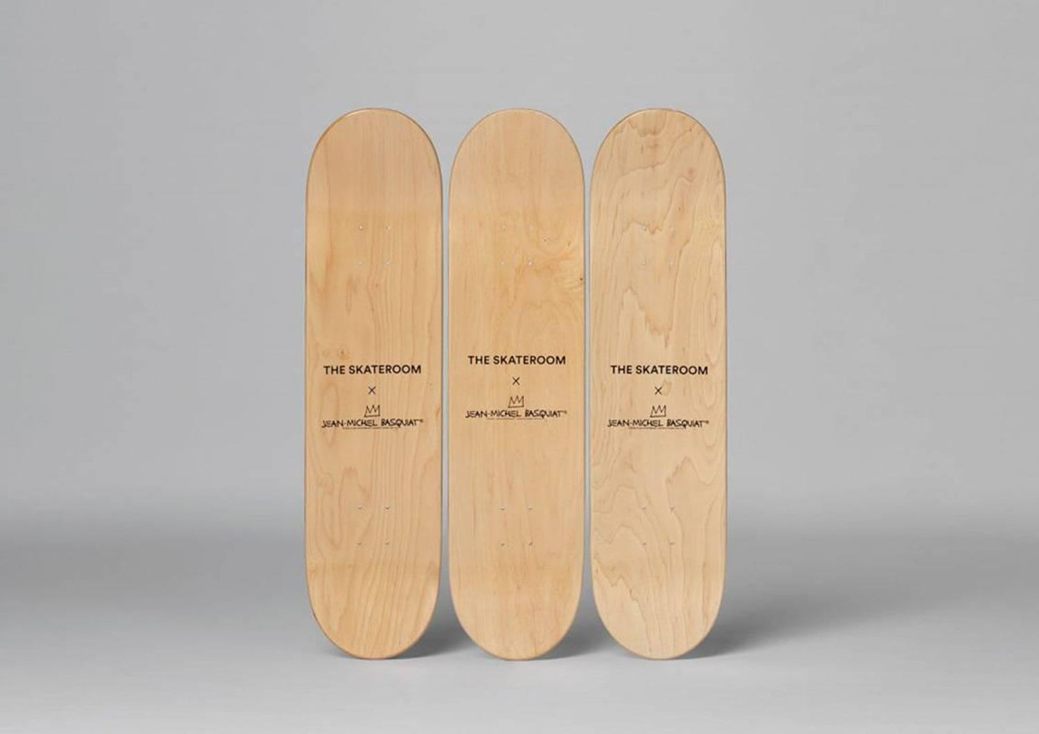 In Italian Skateboard Decks after Jean-Michel Basquiat For Sale at ...