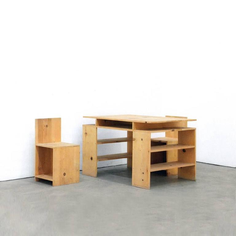 The Desk Set By Donald Judd Is An Icon Of Modern Art And Design