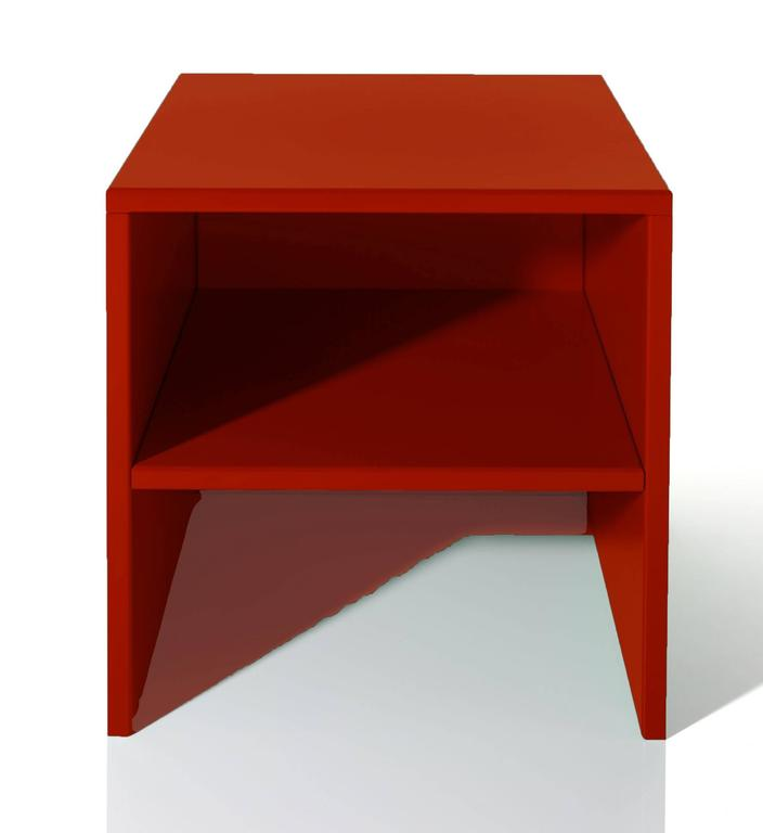 Swiss Stool or Table by Donald Judd For Sale