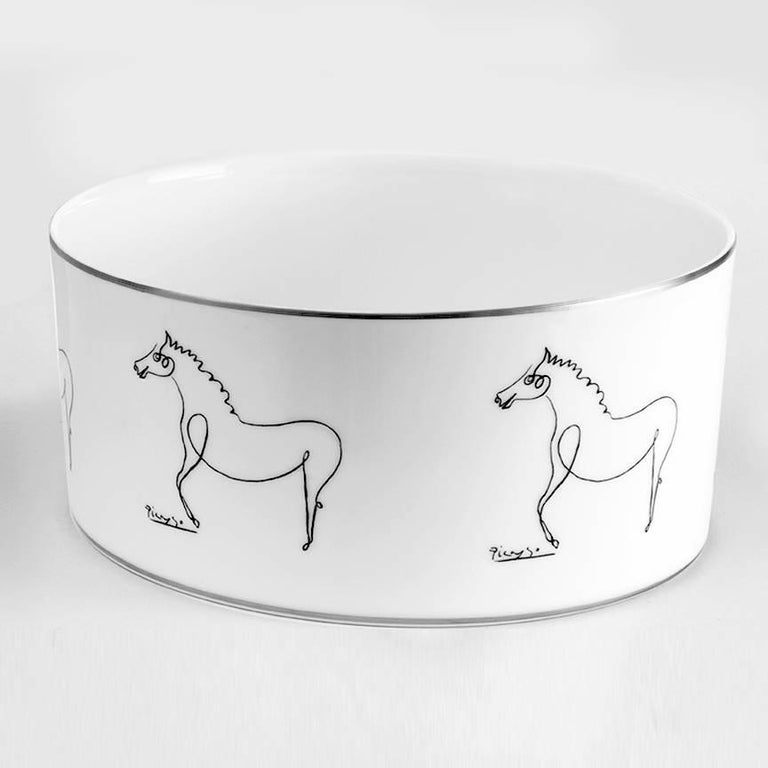 French Serving Bowls after Pablo Picasso For Sale